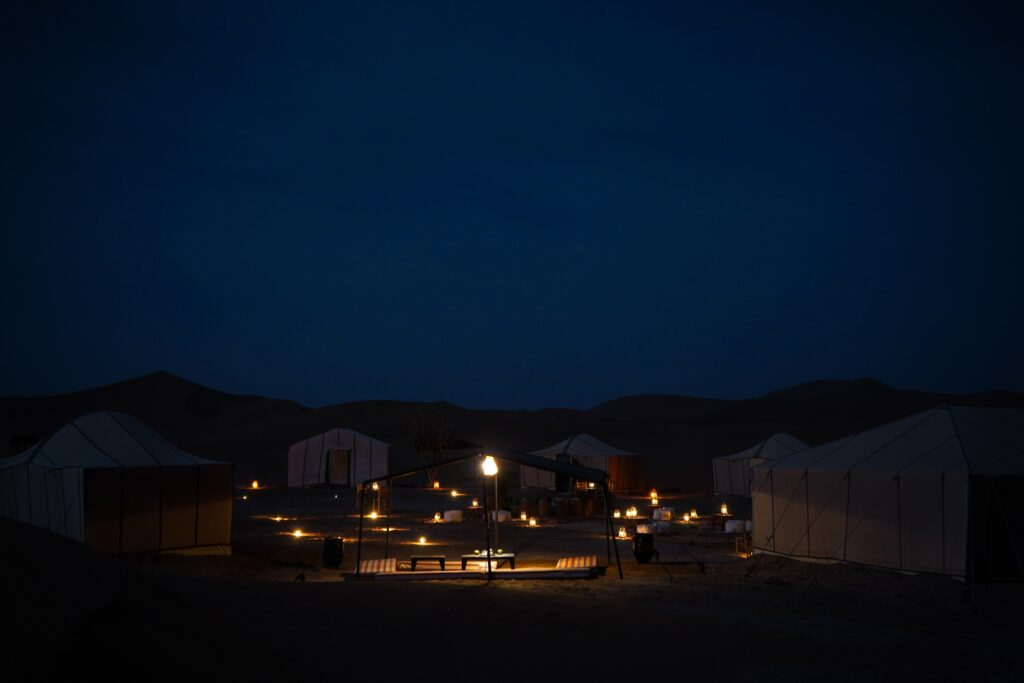 Camp Al Koutban, Morocco desert camp - camp in the Erg Chigaga dunes